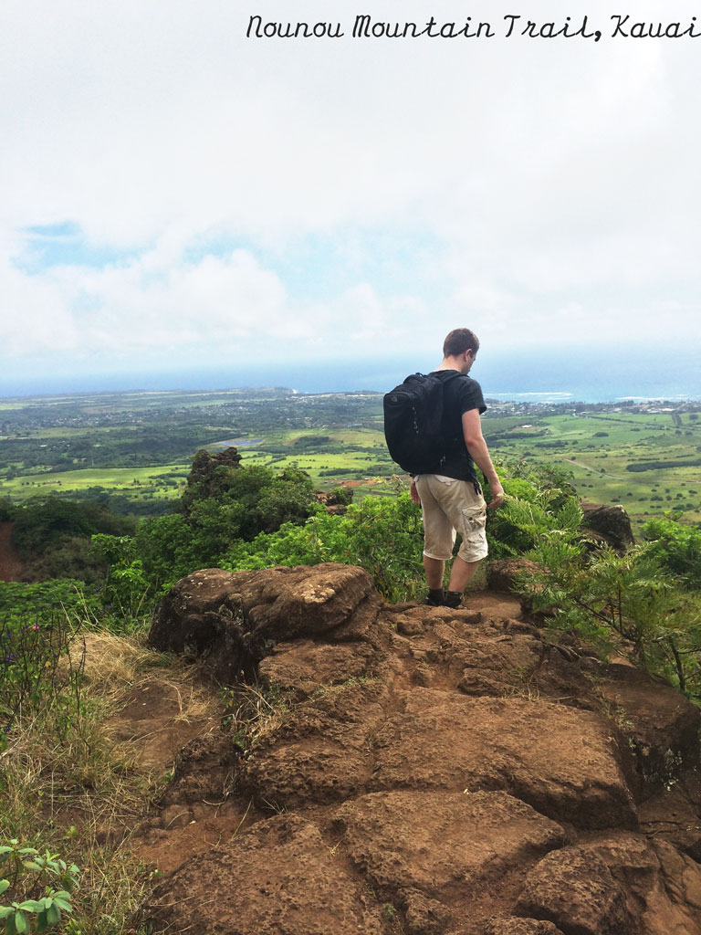 Nounou-Mountain-(Sleeping-Giant),-Kauai