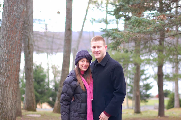 Nick and I at Woodloch -- one of my favorite places in the world to just relax and recharge with my family.